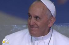 REPLAY TV – Il saluto di Papa Francesco ai volontari della Gmg – Leggi le parole del Papa e vedi la foto gallery