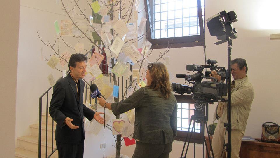 Intervista di Massimo Pamio, direttore del Museo alla Tv polacca