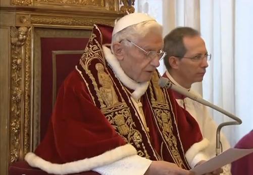 La declaratio di Benedetto XVI
