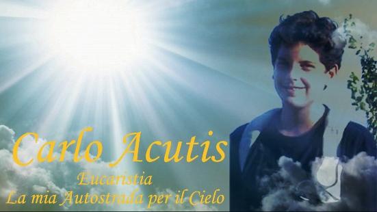 Eucarestia, la mia autostrada verso il cielo è il titolo del lavoro di Ferdy Sapio sul srvo di Dio Carlo Acutis