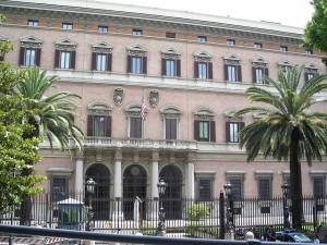L'Ambasciata americana di Roma