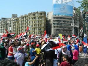Demonstration on Tahrir- removal of Mursi
