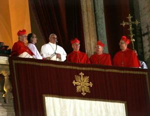 Papa Francesco il giorno della Sua Elezione a Pontefice
