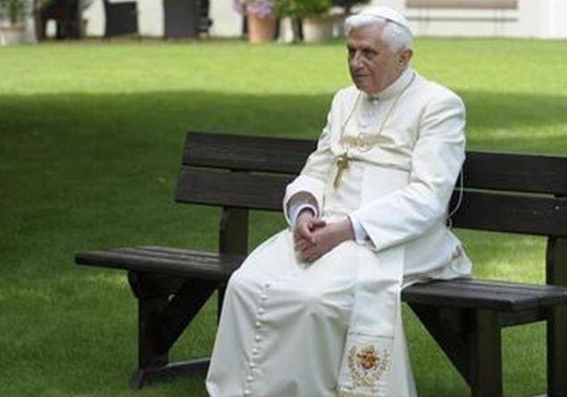 Una delle tante passeggiate ... con Rosario per Benedetto XVI durante il Suo Pontificato