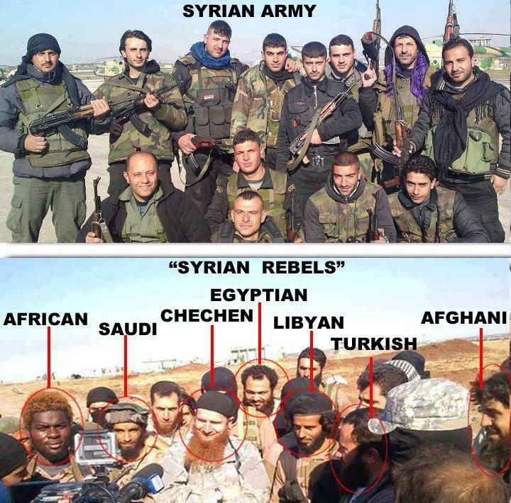 La differenza tra i combattenti