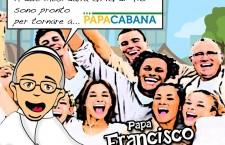 PAPACABANA L'e book per ritornare sulla spiaggia di Rio con PAPA FRANCESCO a 2 mesi dalla Gmg