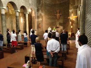 Se i giovani costruissero la pace… in ginocchio! Le 24 ore al Centro San Lorenzo in Vaticano