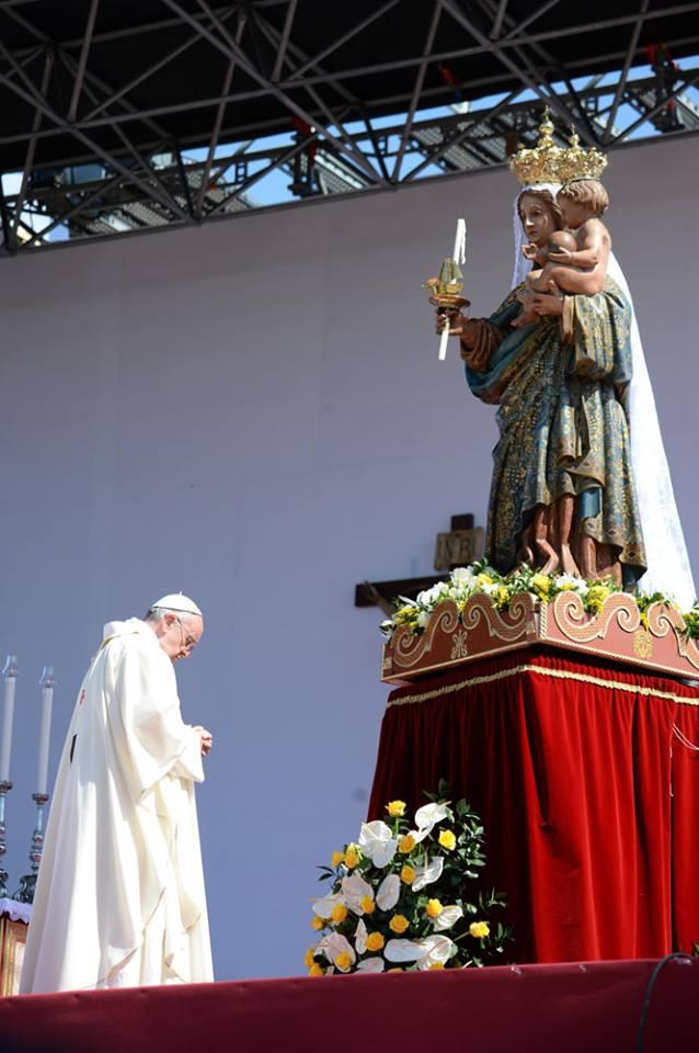 REPLAY TV- Papa Francesco a Cagliari - Santa Messa e ...