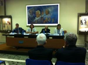 La conferenza di oggi presso la Sala Marconi della Radio Vaticana