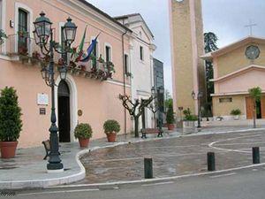 L'ingresso del Museo della Lettera d'Amore a Torrevecchia Teatina, in Abruzzo