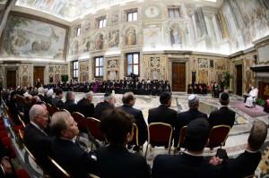 Città del Vaticano, udienze odierne di Papa Francesco