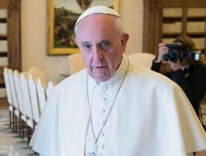 GIORGIO NAPOLITANO VISIT POPE FRANCIS
