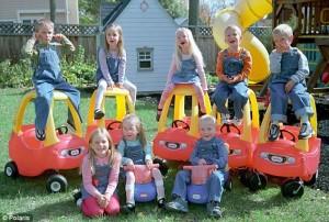 I 7 bambini della Famiglia McCaughey