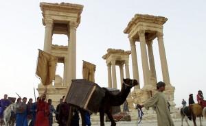 Foto emblematica proveniente dal nord della Siria.