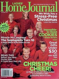 La nota rivista americana Home Journal, che si è occupata dei 7 bambini non abortiti