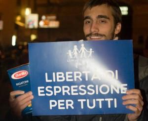 Libertà di espressione per tutti.