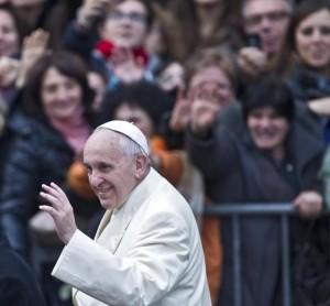 Roma - Papa Francesco per l'Immacolata