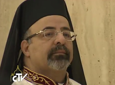 Il Patriarca di Alessandria dei Copti Cattolici, Ibrahim Isaac Sidrak