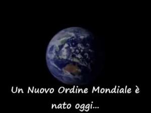 """Nuovo Ordine Mondiale """"Gaia""""."""