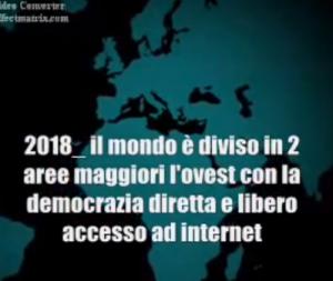 """Le affermazioni di Casaleggio sul nuovo """"Ordine Mondiale""""."""