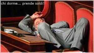 La dormita della politica italiana