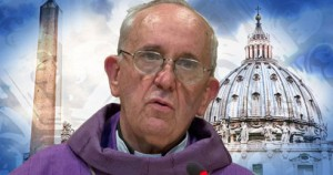Cardinale Jorge M. Bergoglio, oggi Papa Francesco.