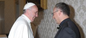 Papa Francesco, incontra Padre Antonio Spadaro SJ.