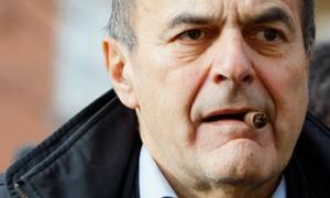 Pier Luigi Bersani ex segretario del PD.