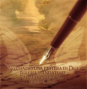 Lettera di Dio al fidanzato sposo