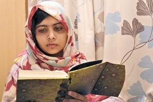 Malala Yousafzai, aggredita dai Talebani e ridotta in fin di vita, lotta per la libertà religiosa.