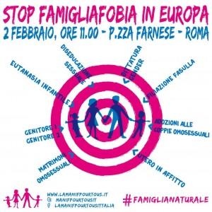 Stop Famigliofobia.