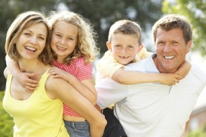 Papà + Mamma + Figli= Famiglia.