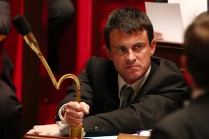 Il ministro dell'interno francese.
