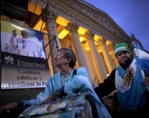 I fedeli di Papa Francesco a Buenos Aires
