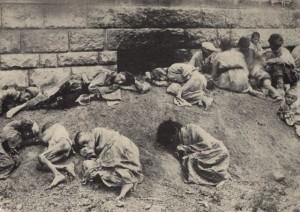Il genocidio degli Armeni.
