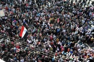 Manifestazioni in Siria a sostegno dell'Esercito.