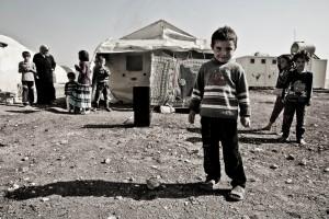 Campi di accoglienza per i bambini siriani. Photos the Gabriel Chaim.