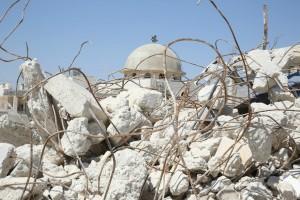 Gli effetti della guerra in Siria. Photo the Gabriel Chaim.