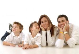 Famiglia= papà+mamma= figli