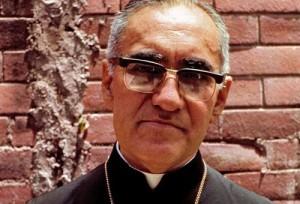 Mons. Romero, Arcivescovo di El Salvador.