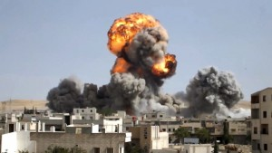 Attacco terroristico alla periferia di Damasco.