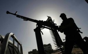 Fondamentalisti islamici con le armi.
