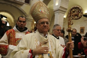 Il Patriarca Latino di Gerusalemme.