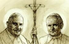 Il monumento a Papa Giovanni è la carità. La carezza del Papa