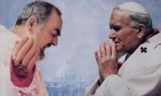 Due mistici (e santi) a colloquio oggi: Karol Wojtyla e Padre Pio da Pietralcina