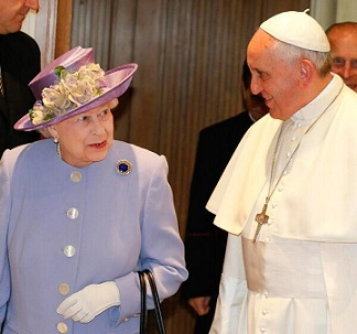 Papa Francesco Riceve Elisabetta La Regina Dei Papi Papaboys 3 0