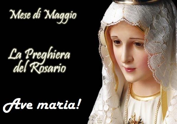 Maggio, un mese da vivere con Maria