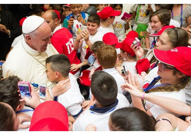 Papa Francesco incontra i bambini