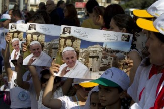 Benvenuto a Betlemme Papa Francesco