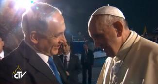 Netanyahu saluta Papa Francesco